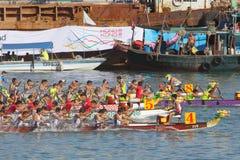 Raças de barco 2010 do dragão de Hong Kong Int'l Imagens de Stock