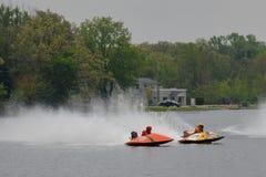Raças de barco Fotografia de Stock