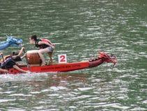 Raças de barco do dragão Foto de Stock Royalty Free