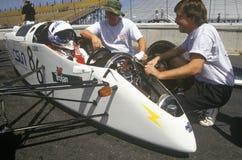 500 raças de carro solares e elétricas, AZ Fotografia de Stock