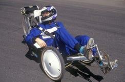 500 raças de carro solares e elétricas, AZ Imagem de Stock Royalty Free