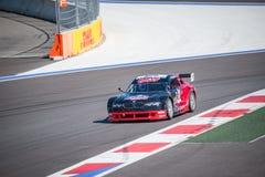 Raças do treinamento do carro de alta velocidade Foto de Stock Royalty Free