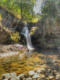 Ra Bridge Waterfall. Photo of a waterfall Stock Images