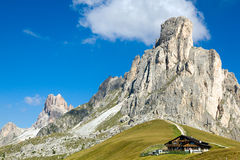 Ra Gusela from Passo Giau Royalty Free Stock Photography