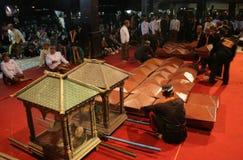 21ra noche de la tradición del Ramadán Imágenes de archivo libres de regalías