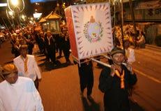 21ra noche de la tradición del Ramadán Foto de archivo