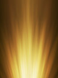 Ra orange rougeoyant de fond abstrait Photos stock