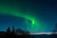 Ra's eye aurora stock image