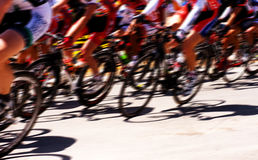 Raça de bicicleta Foto de Stock Royalty Free