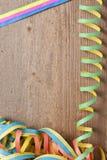 Raad met kleurrijke wimpels Royalty-vrije Stock Afbeeldingen