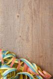 Raad met kleurrijke wimpels Royalty-vrije Stock Foto