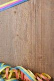 Raad met kleurrijke wimpels Stock Afbeelding