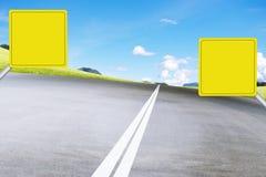 Raad op weg vector illustratie