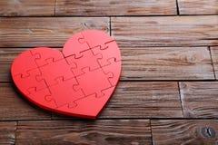 Raadsel Heart Stock Foto