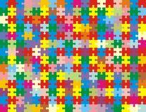 Raadsel in kleuren Stock Afbeeldingen
