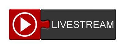 Raadselknoop: Livestream royalty-vrije illustratie