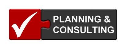 Raadselknoop: Planning en het Raadplegen royalty-vrije illustratie