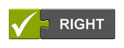 Raadselknoop: Recht vector illustratie
