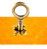 Raadsels en sleutels Stock Fotografie