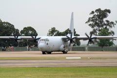 RAAF C-130赫拉克勒斯 图库摄影