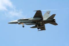 RAAF F-18大黄蜂 库存图片