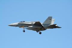 RAAF F-18 免版税库存图片