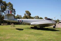 RAAF meteor F8 Zdjęcia Royalty Free