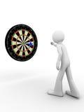 Raak bullseye! vector illustratie