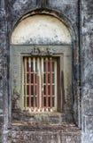 Raamkozijn op Mausoleum bij Raja Tomb-domein, Madikeri India Stock Foto