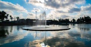 Raanana Park Fountain Royalty Free Stock Images