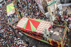 Raath yatra, Ahmedabad Royalty Free Stock Photo