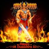 Raavan Dahan for Dusshera celebration Stock Photo