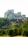 Rabí castle in West Bohemia. Rabí is ruined castle in Southwestern Bohemia. The photo was taken on September 15, 2016 Royalty Free Stock Image