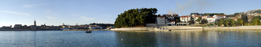 Rab�s panorama Royalty Free Stock Photography