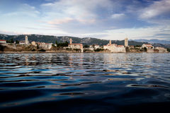 Rab Croatia Panorama Royalty Free Stock Images