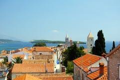 Rab, Croatie Photos libres de droits