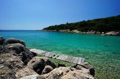 Rab Island coast, Croatia Stock Photo