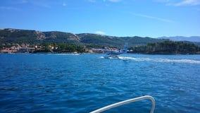 Rab. Island Croatia stock photo