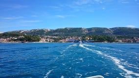 Rab. Island Croatia stock image