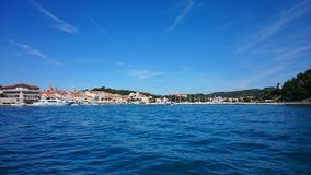 Rab. Island Croatia royalty free stock images