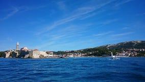 Rab. Island Croatia stock images