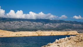 Rab Island, Croatia. Rab Island Otok Rab, is a small island in Croatia. Crystal water and blue sky Stock Photography
