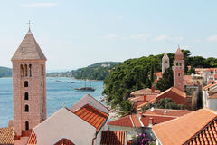 Rab island Royalty Free Stock Images