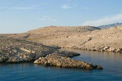 RAB - KAMIENNA wyspa Zdjęcia Stock