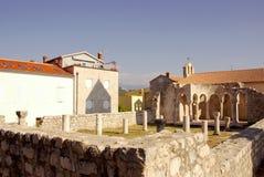 Rab Kroatien Stockbild