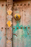 Raba Drzwiowy szczegół Obrazy Stock