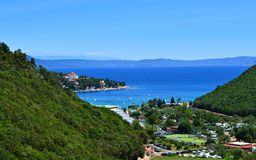 Rabac Croatia Stock Photo
