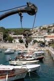 Rabac, Croatia, the port royalty free stock photography