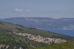 Rabac in Istria. Rabac is located in a fantastic location on the east coast of Istria and is visited by countless travelers each year stock photography