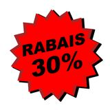 Rabais Sign Royalty Free Stock Photography